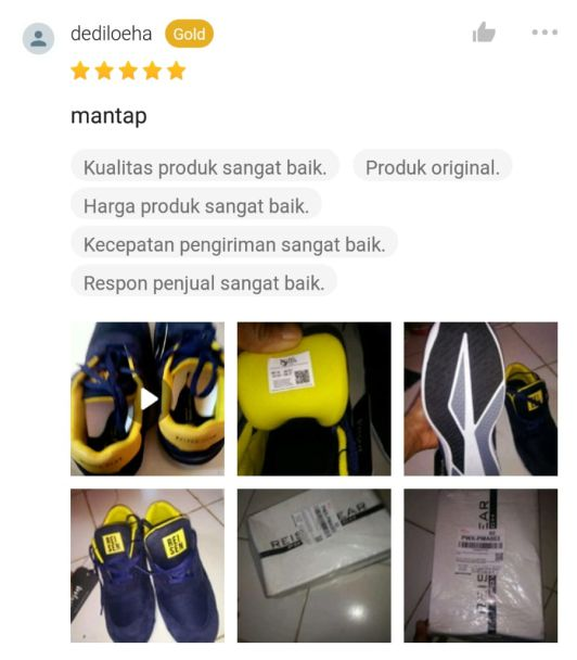 Testimoni Sepatu Safety Makaw 5